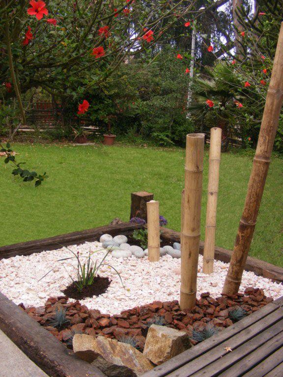 Resultado de imagen para jardines con durmientes fuentes 12