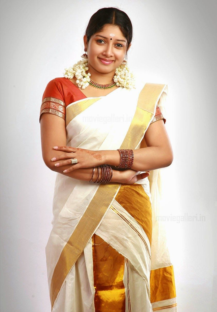 Malayalam Actress Anumol Sexy Photos In Set Saree Kerala -3617