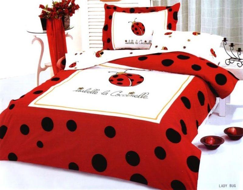 Ladybug Duvet Bedding Set By Le Vele