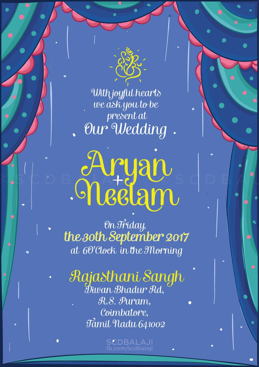 A Royal Rajasthani Wedding Invite For Your Guests The Word