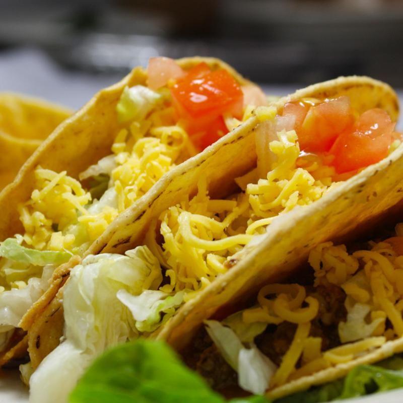 Crispy taco magdaluna mexican cafe zmenu the most
