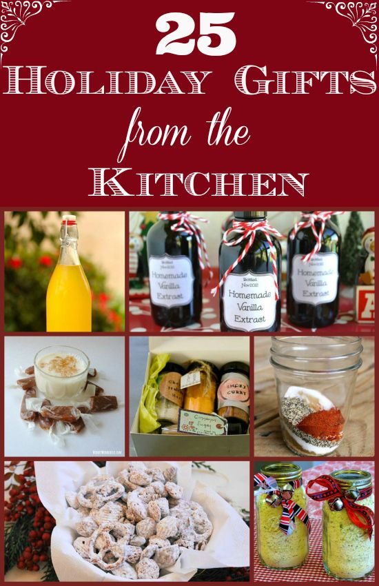 25 holiday gifts from the kitchen holidays kitchens and gift