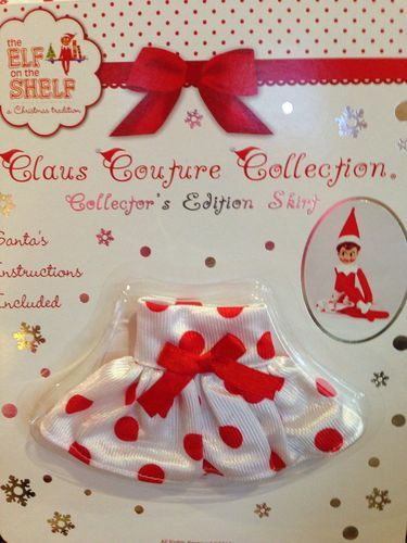 Claus Couture Elf On The Shelf Clothes Skirt Collector S Edition