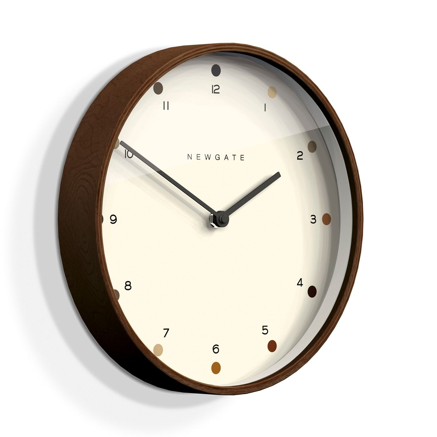 Inject A Minimalist Feel Into Any Interior With This Mr Clarke Clock From Newgate Clocks With A Wall Clock Modern Contemporary Wall Clock Kitchen Wall Clocks