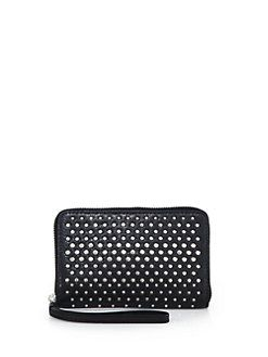 Marc by Marc Jacobs - Wingman Studded Leather Wallet