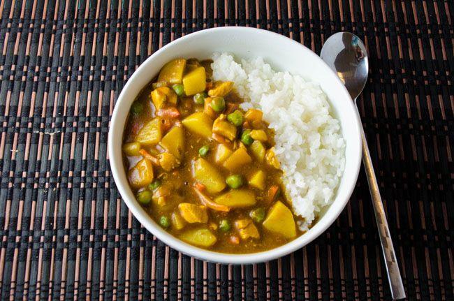 Japanese Curry Chicken Curry Chicken Japanese Curry Food