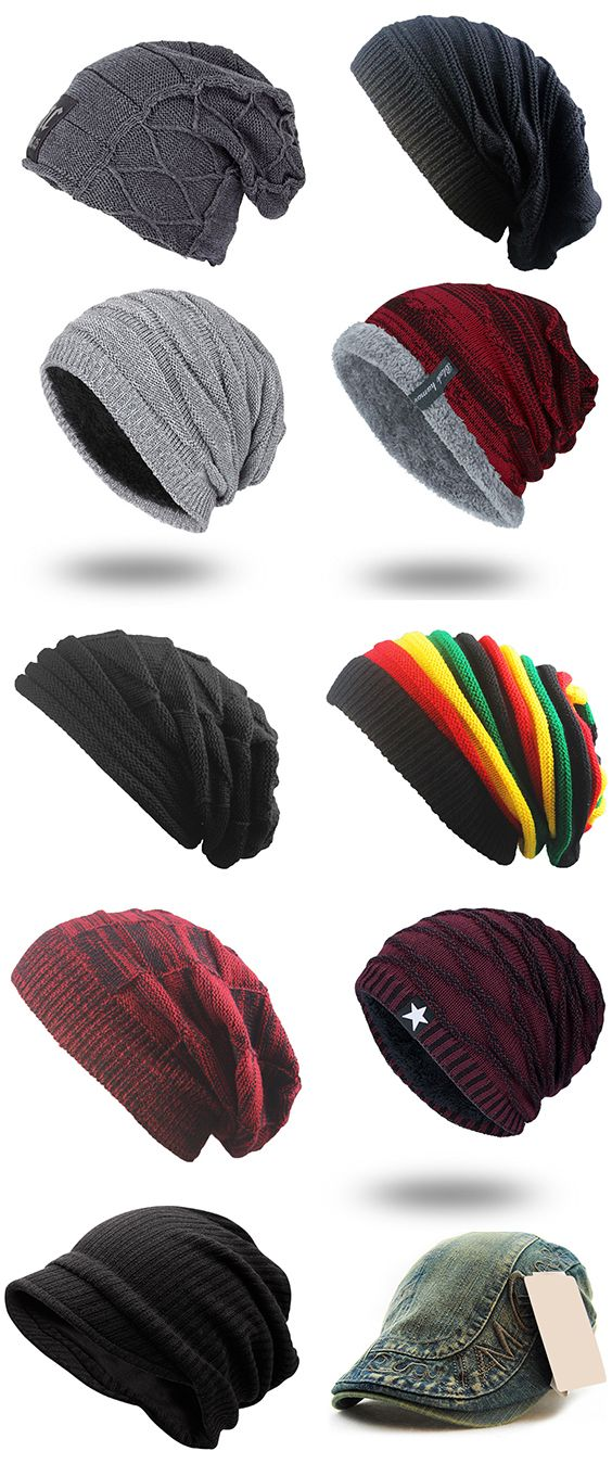 Knitted Beanie For Men,Free Shipping Worldwide. | My Style ...