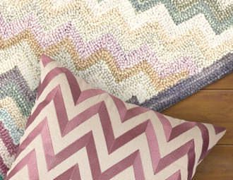 I pinned this from the Zig Zag Pattern & Pop - Chevron Rugs & Pillows event at Joss and Main!