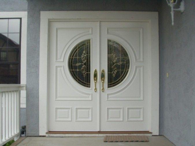 It Is Not Just A Front Door It Is A Gate Double Doors Exterior