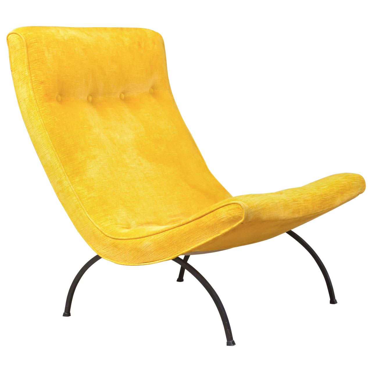 Milo Baughman   Scoop Chair | From A Unique Collection Of Antique And  Modern Lounge Chairs