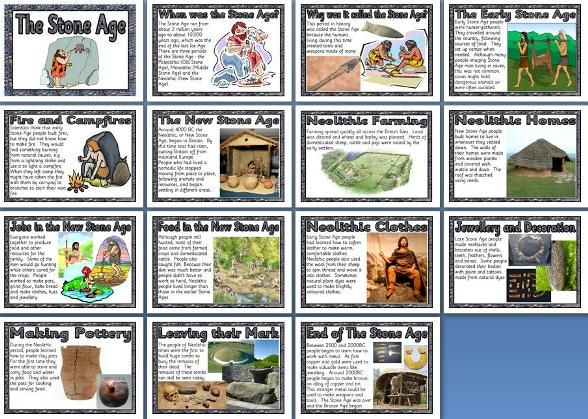 KS3 and KS2 History Teaching Resource - Stone Age or Neolithic Times ...