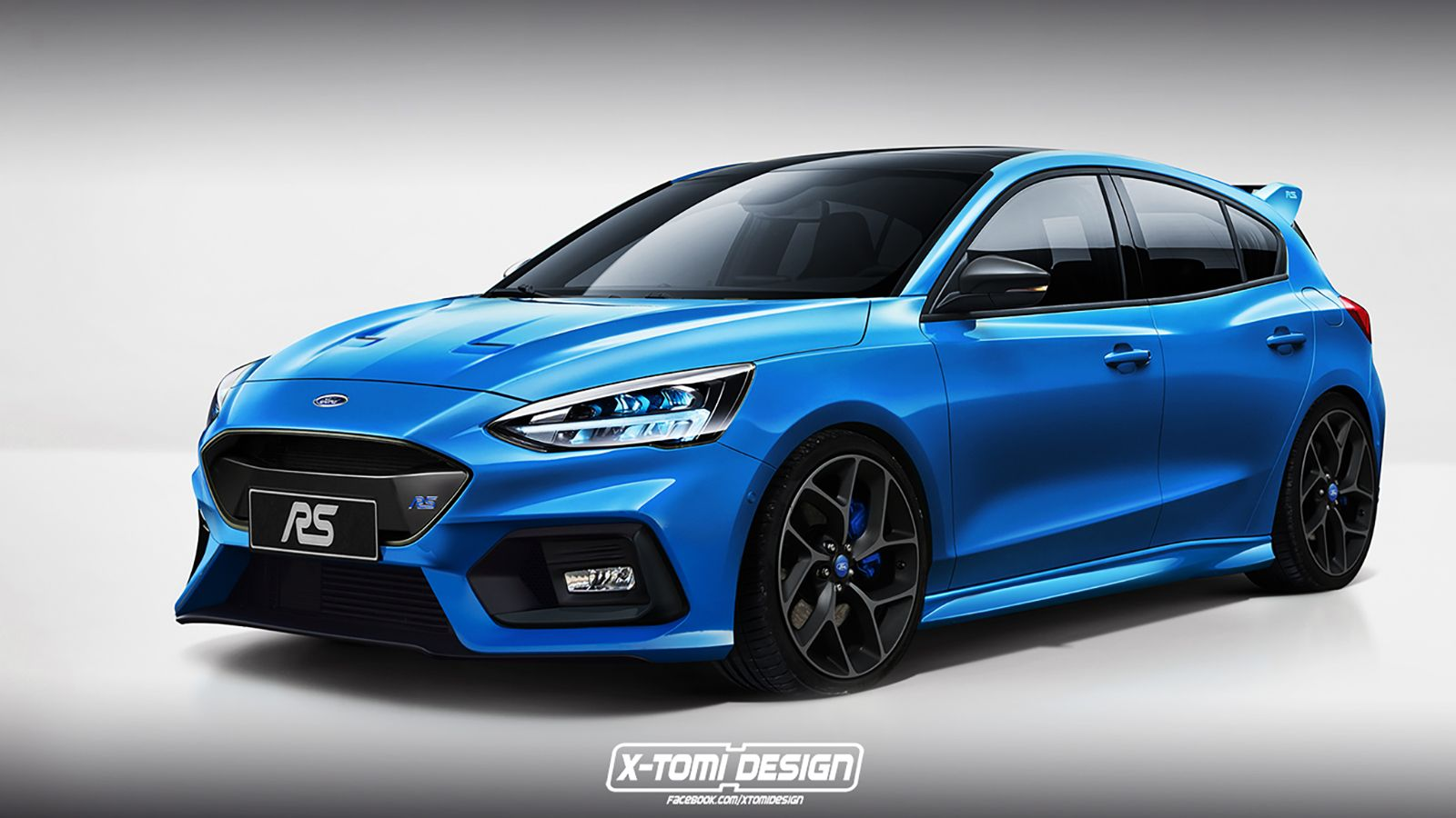 Here S A Preview Of What The Ford Focus St And Focus Rs Might Look