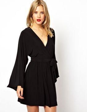 1bb9d5ebf97 Asos Kimono Wrap Dress