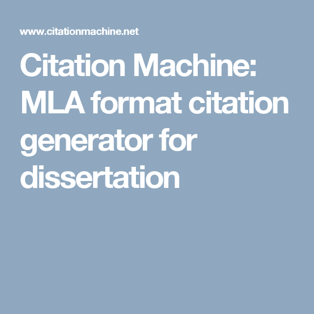 apa cite for dissertation Citations are placed in the context of discussion using the author's last name and date of publication (sabbagh, 2009) alternatively, you can integrate the citation into the sentence by means of narrative.