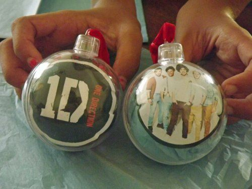 Homemade One Direction Ornaments - adapt these ideas for your ...
