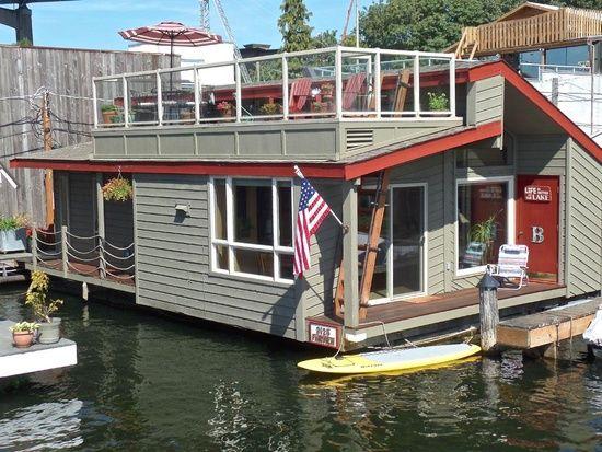 Eastlake Home For Sale Floating House House Boat House