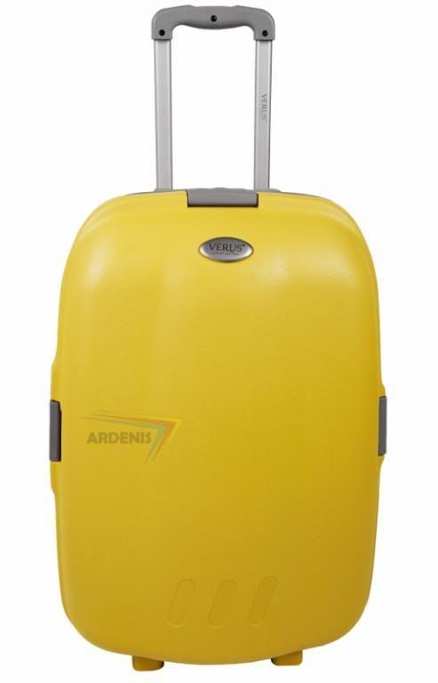 Walizka 25 Na Kolkach W Kolorze Zolty Verus 5456307615 Oficjalne Archiwum Allegro Suitcase Items Luggage