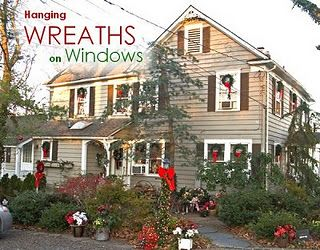 My Serendipity Hanging Wreaths On Windows Tip Christmas Wreaths For Windows Hanging Wreath Christmas Wreaths