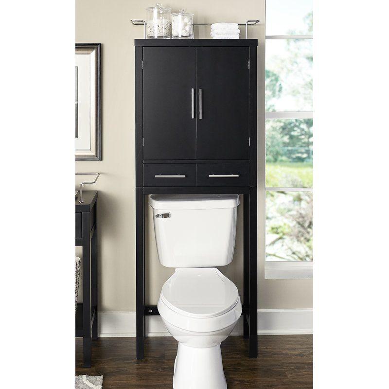 Latitude Run Hayes 24 5 W X 68 H Over The Toilet Wayfair Toilet Storage Restroom Decor Toilet