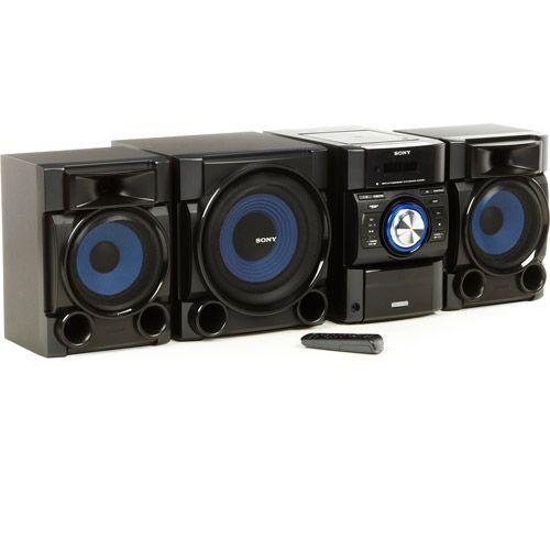 Sony MHCEC909iP Mini Hifi Music Shelf System Shelf