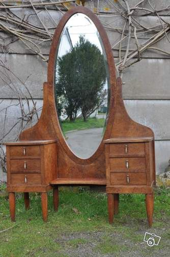 coiffeuse psych poque 1920 ameublement loire atlantique the house of my. Black Bedroom Furniture Sets. Home Design Ideas