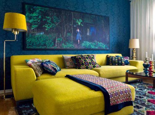 Yellow Purple Bedroom – Purple and Yellow Bedroom