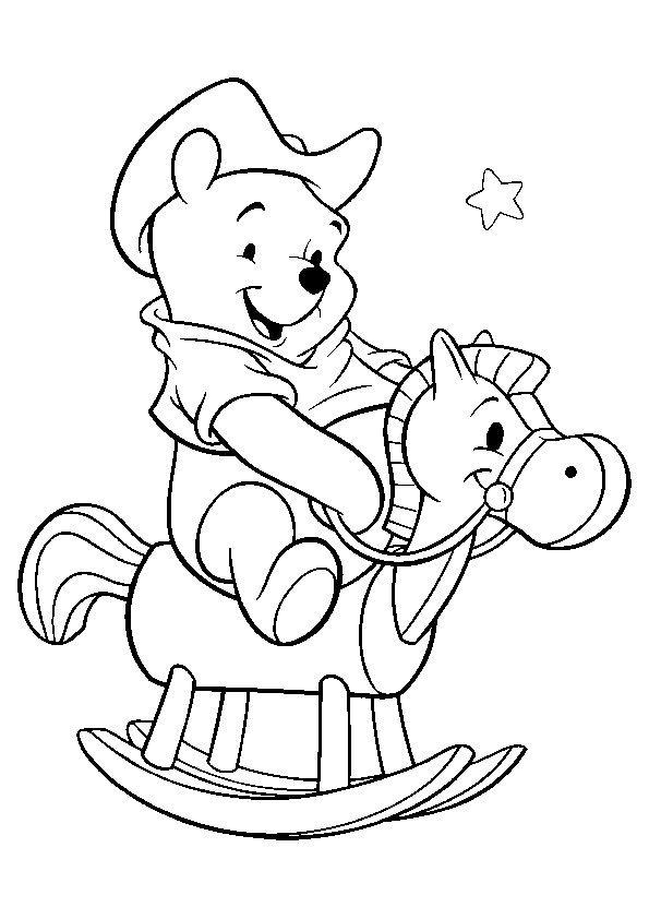 Print Coloring Image Momjunction Cartoon Coloring Pages Disney Coloring Pages Horse Coloring Pages