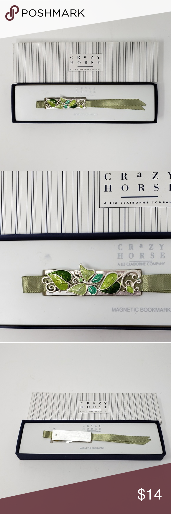 Liz Claiborne Crazy Horse Magnetic Bookmark