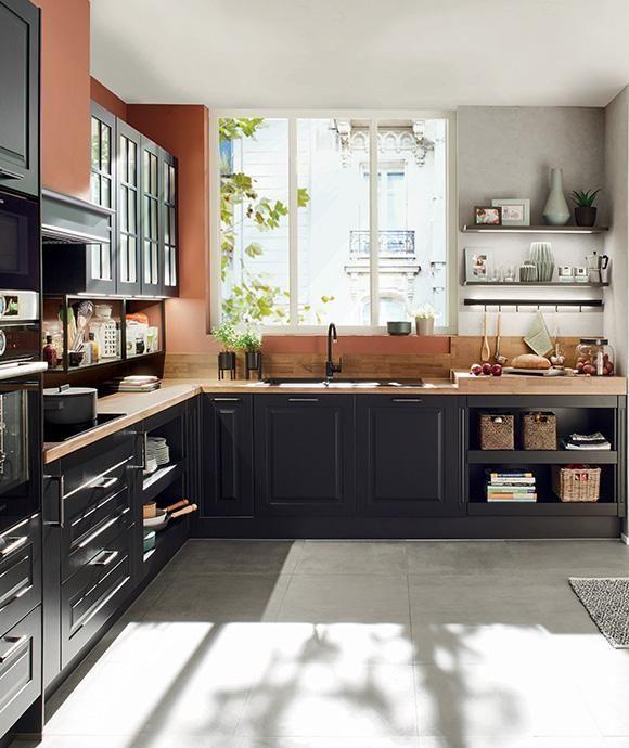 10 Designs Perfect For Your Small Kitchen Avec Images Cuisine Ixina Meuble Cuisine Cuisines Rustiques Modernes