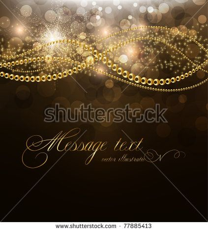 Design B For Wedding Vector Elegant Background With Place For Text Invitation Golden Elements Stars And Sparks E Textured Background Invitations Background