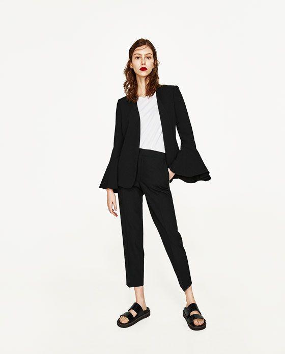CHAQUETA MANGA CAMPANA | Outfit en 2019 | Moda estilo