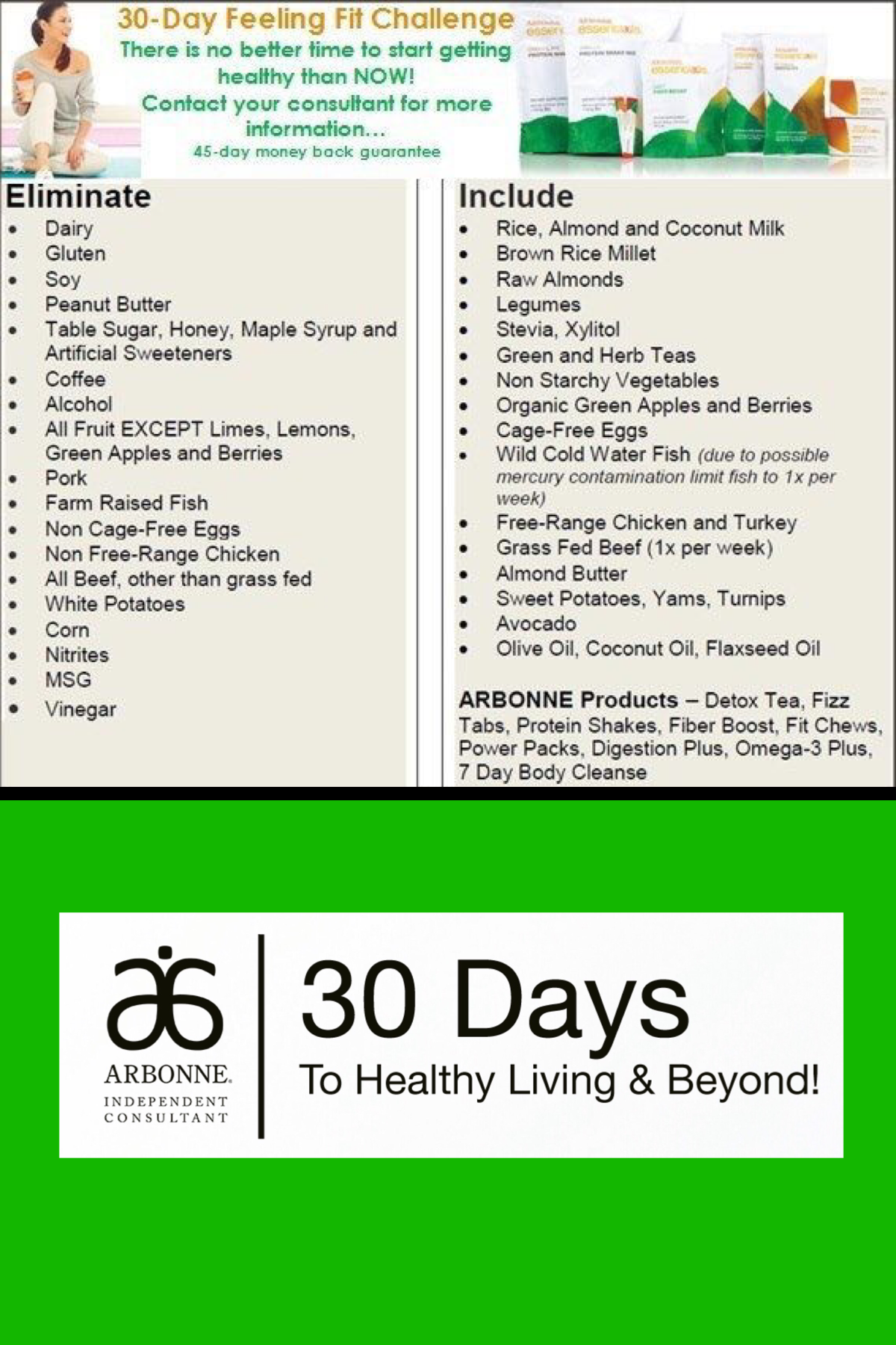 Arbonne S 30 Days To Healthy Living A Simple Plan To Help Reduce And Eliminate Toxins From Your Arbonne 30 Day Detox Arbonne Nutrition Arbonne Detox Recipes