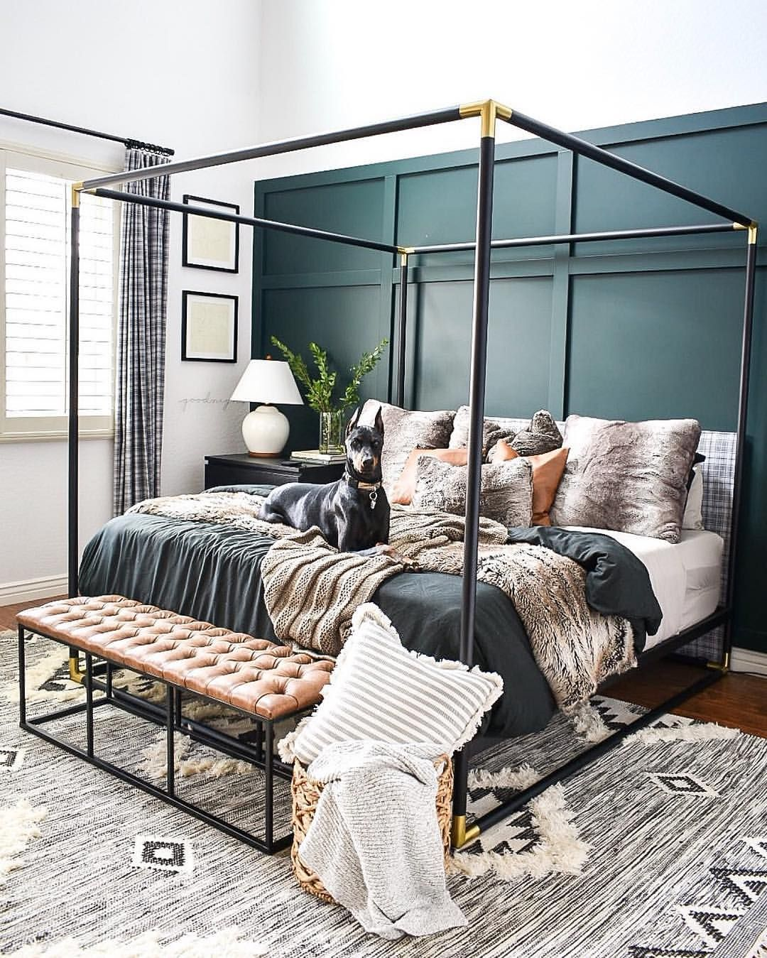 billie queen canopy bed on and this is why it s pointless to make the bed turns out my allergies have morphed into bron stylish bedroom design stylish bedroom bedroom inspirations pinterest