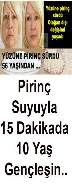 Pirinç Suyuyla 15 Dakikada 10 Yaş Gençleşin.. #skincare