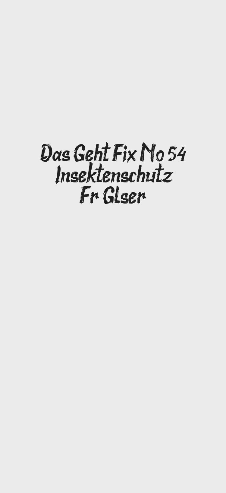 Photo of Das Geht Fix No. 54 – Insektenschutz Für Gläser