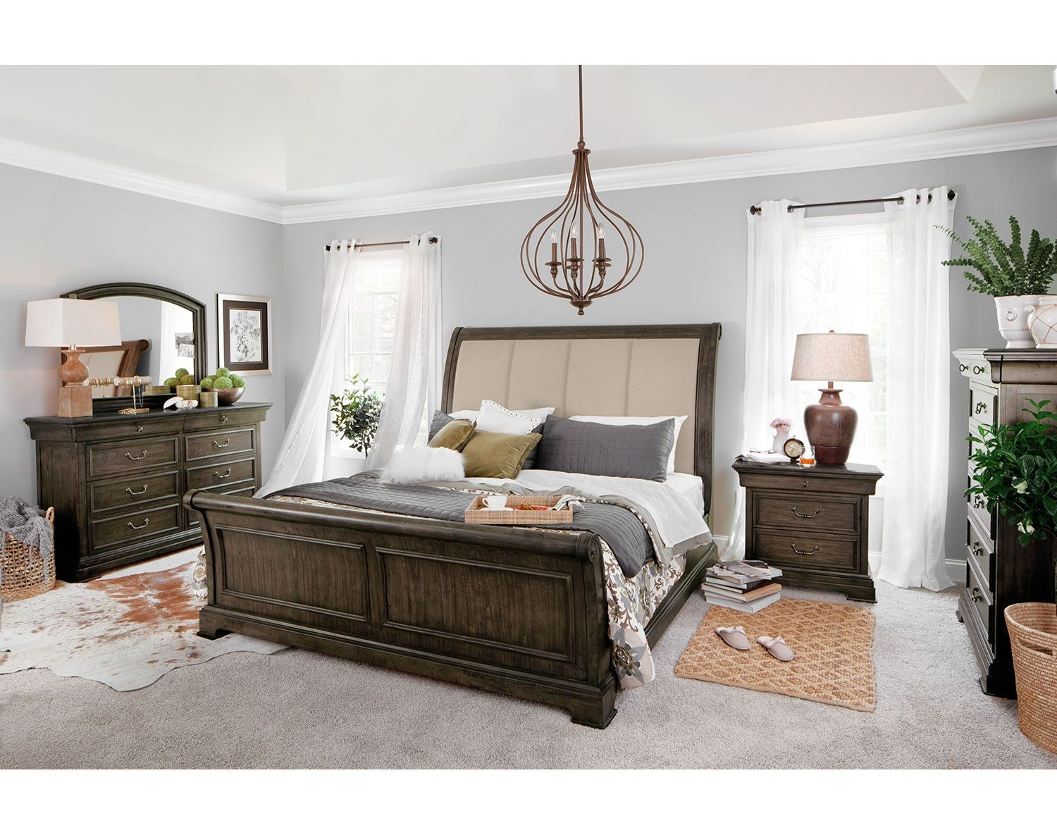 The collinwood bedroom collection american signature for American bedrooms