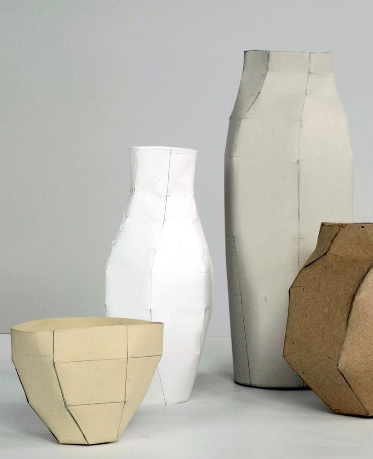 Paper Vases Io Pinterest