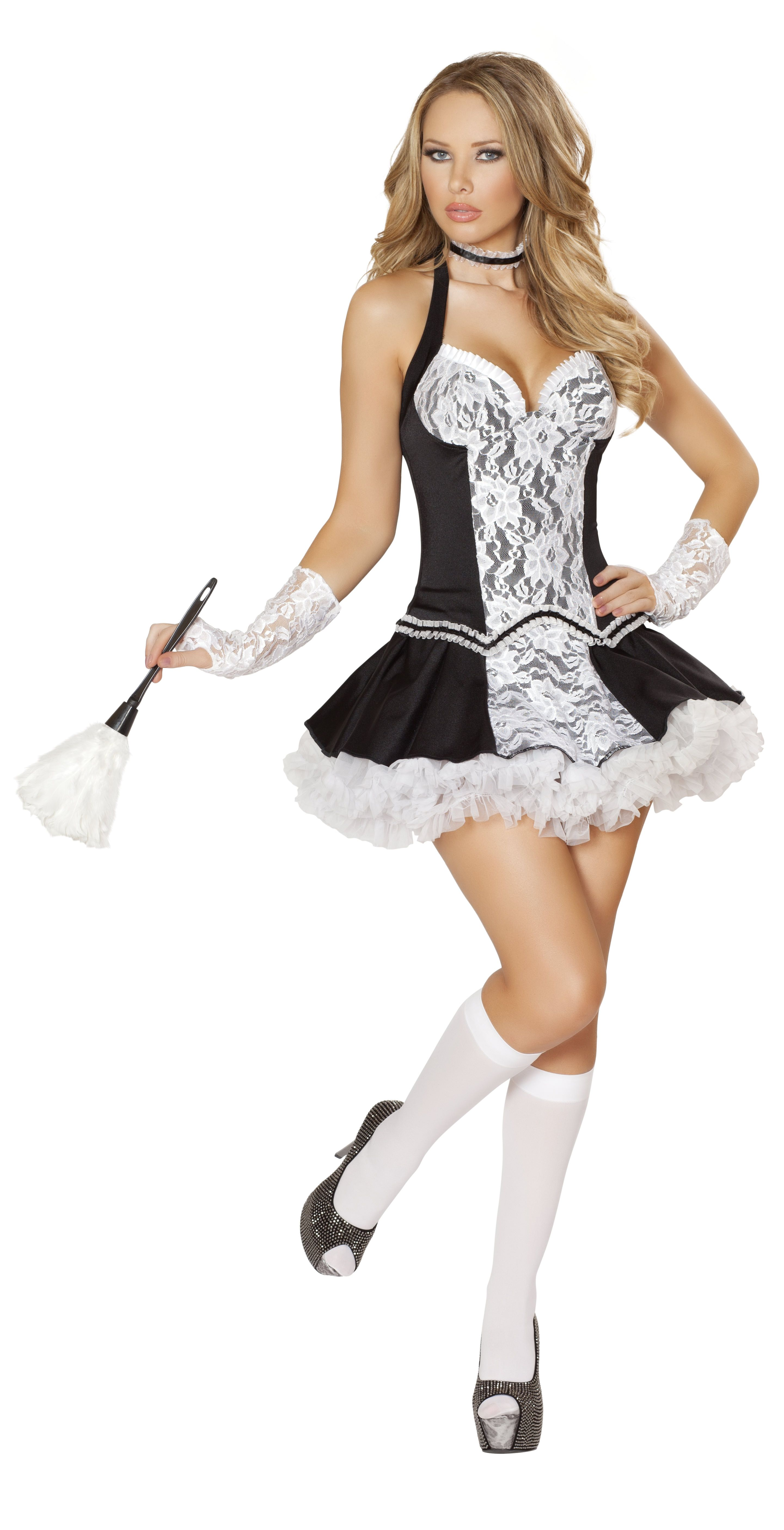 Roxanni 4538 5pc Cleaning Cutie Costume by Roma Halloween Costume  sc 1 st  Pinterest & Roxanni 4538 5pc Cleaning Cutie Costume by Roma Halloween Costume ...