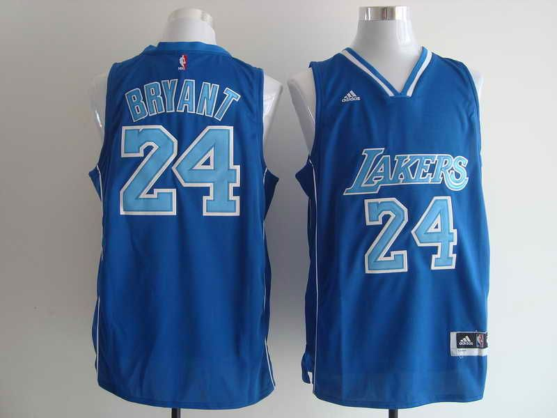 Los Angeles Lakers #24 Kobe Bryant Blue Jersey for sale | Jersey ...