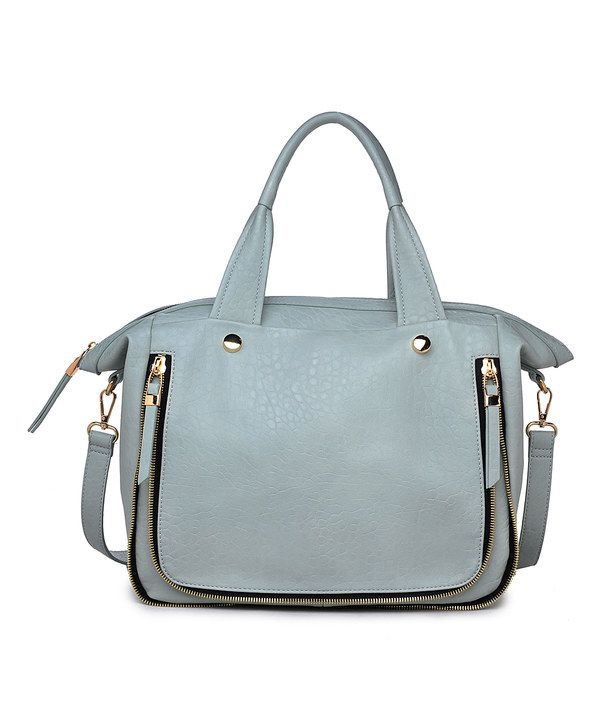 Look at this Moda Luxe Seafoam Fremont Tote on #zulily today!