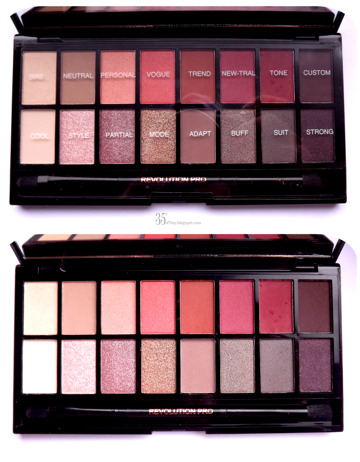 Revolution Newtrals vs Neutrals Palette Makeup