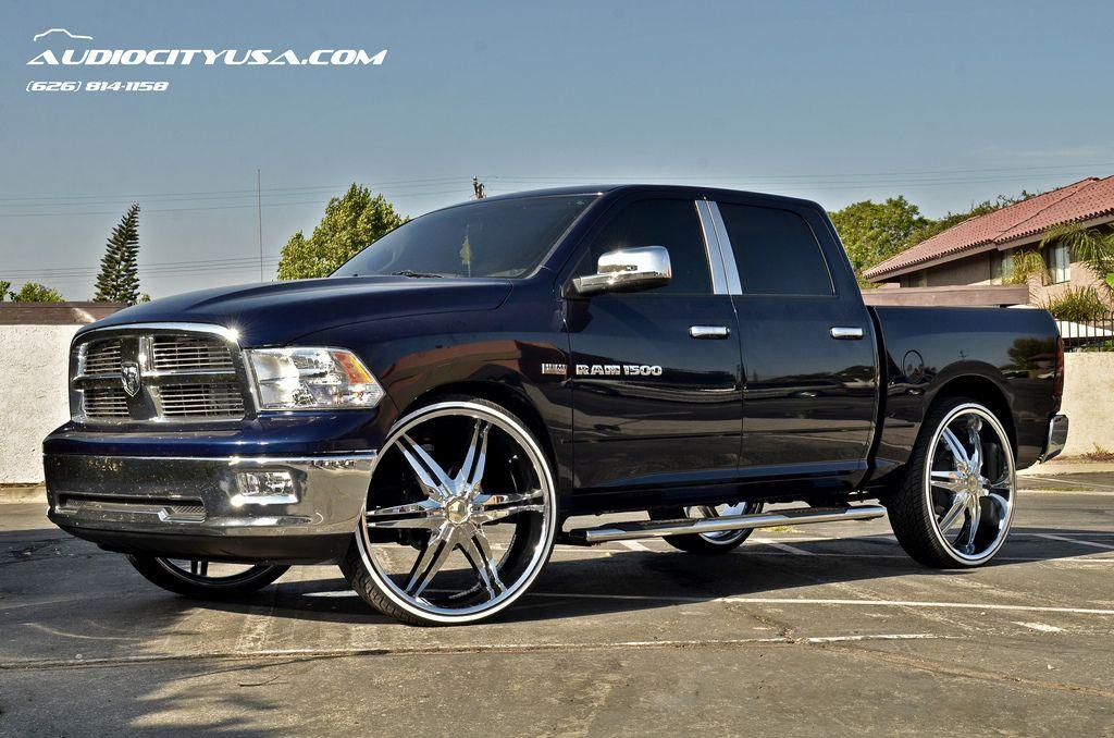 30 estrella cursa chrome 2013 dodge ram 1500 hemi white wall tires - White Dodge Truck 2005
