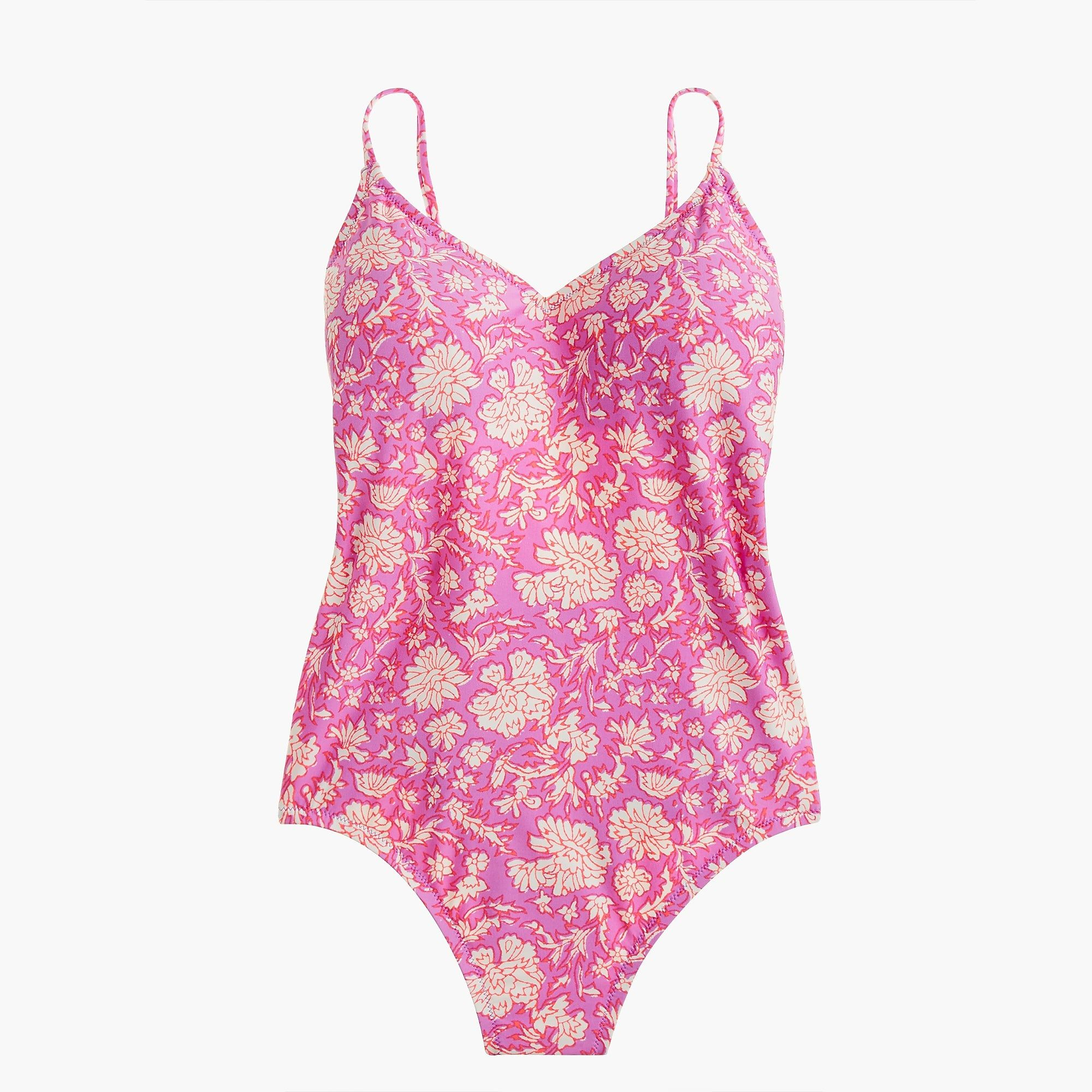 37020dbdb9 Free Shipping Available. J.Crew - Ballet one-piece swimsuit in SZ  Blockprints Modest Swimsuits, Mens