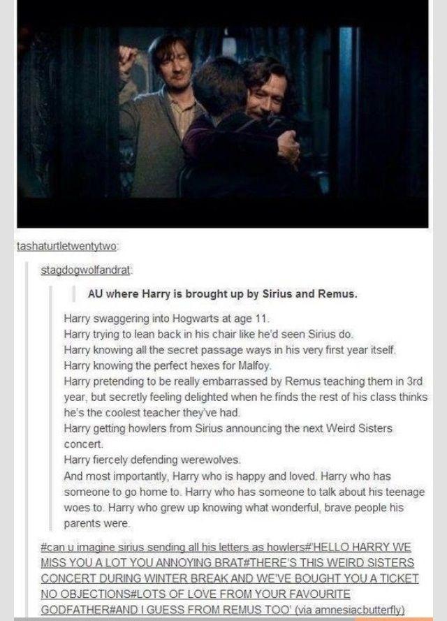 Yes 3 Harry Potter Marauders Harry Potter Universal Harry Potter Headcannons