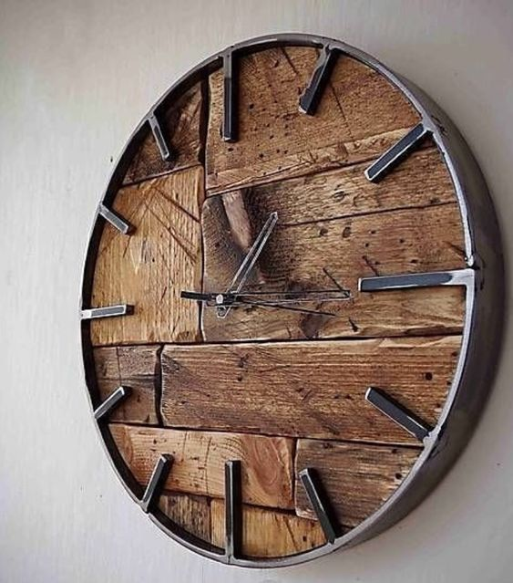 35 Vintage Clock Ideas For Your Home Decor Page 11 Of 35 Lovein Home Diy Clock Wall Minimalist Wall Clocks Clock Wall Decor