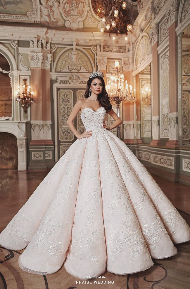 4f7b2d34aca Dreaming of a fairy tale wedding  Get inspired by these gorgeously  magnificent Cinderella dresses that can make dream weddings come true with  a magical ...