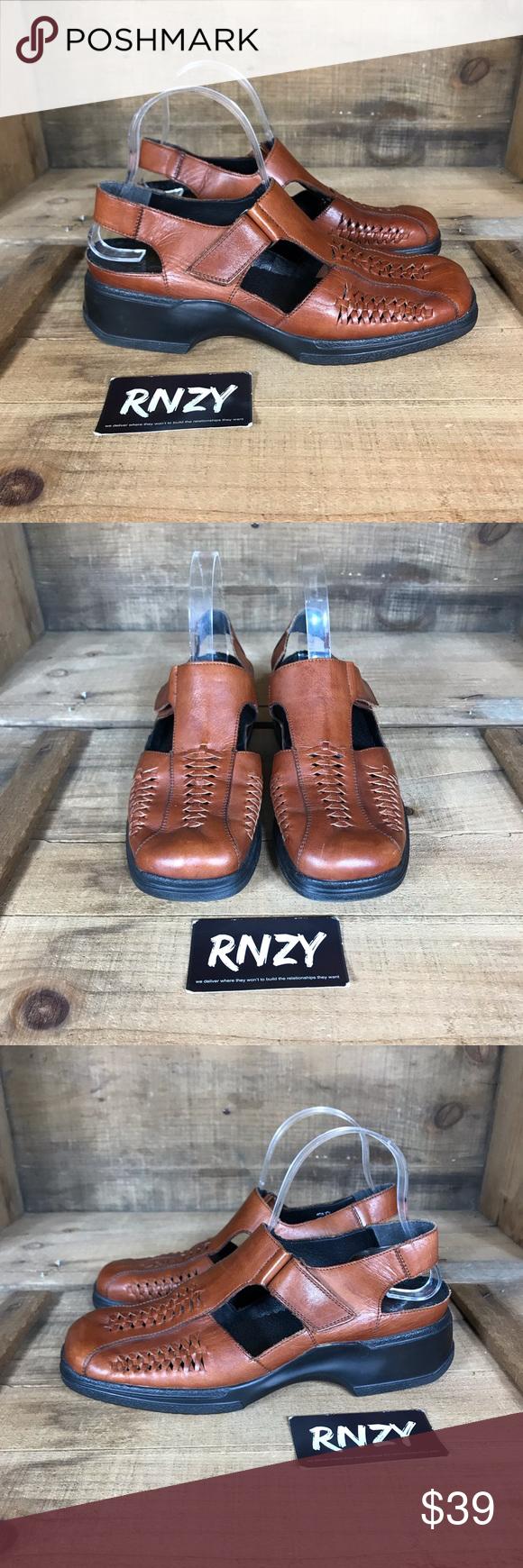 Rieker Anti Stress Leather Comfort Shoe