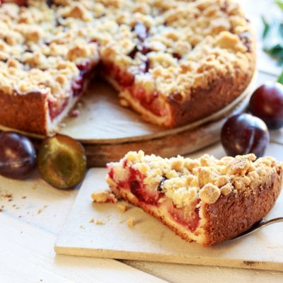 Pflaumenkuchen vom Blech (Diabetiker) Rezept   LECKER