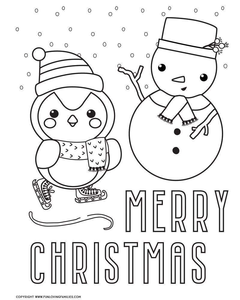 Christmas Coloring Pages Free Printables Printable Christmas Coloring Pages Christmas Coloring Sheets Merry Christmas Coloring Pages