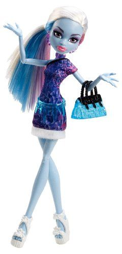 Amazon.com: Monster High Basic Travel Abbey Bominable Doll: Toys & Games